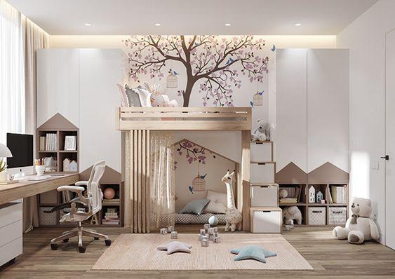Обустройство комнаты для ребенка - дизайнерские вдохновения