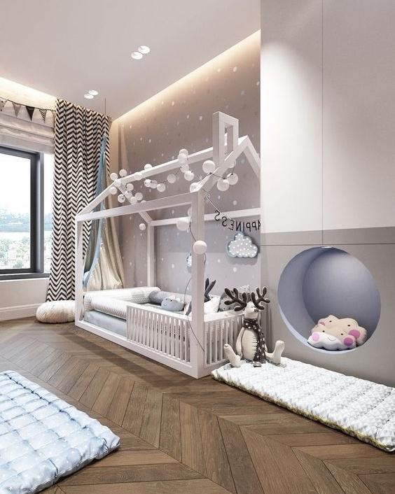 Вдохновение для создания идеальной детской комнаты