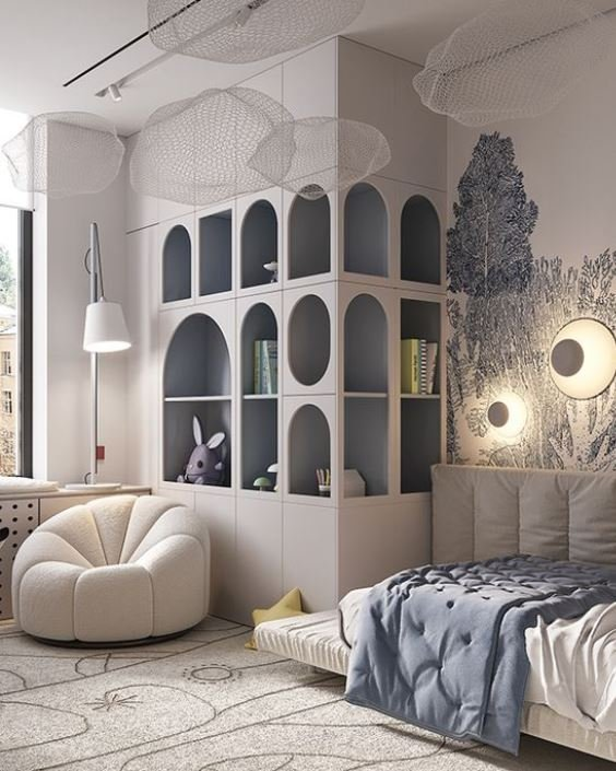 Дизайн идеальной детской комнаты
